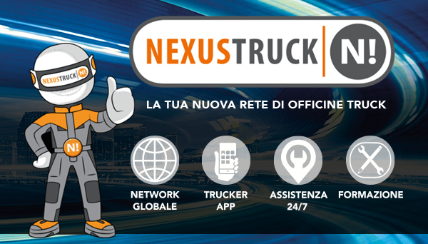 IN ITALIA APRE LA RETE DI OFFICINE NEXUSTRUCK